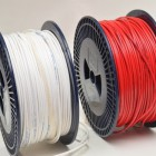 RED CABLE / WHITE CABLE